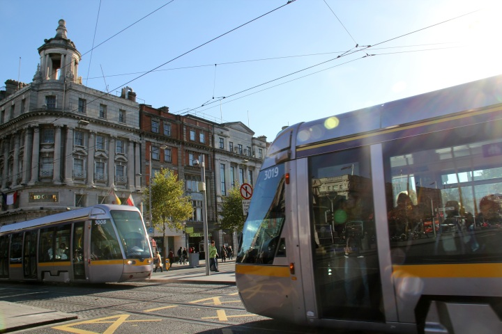 O'Connell Street, Dublin - The Present - Photo by Miss Pearl
