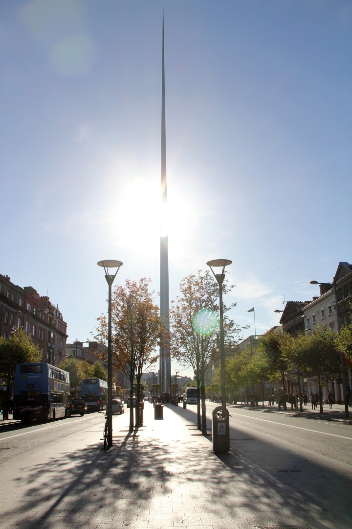 O'Connell Street, Dublin - The Future - Photo by Miss Pearl