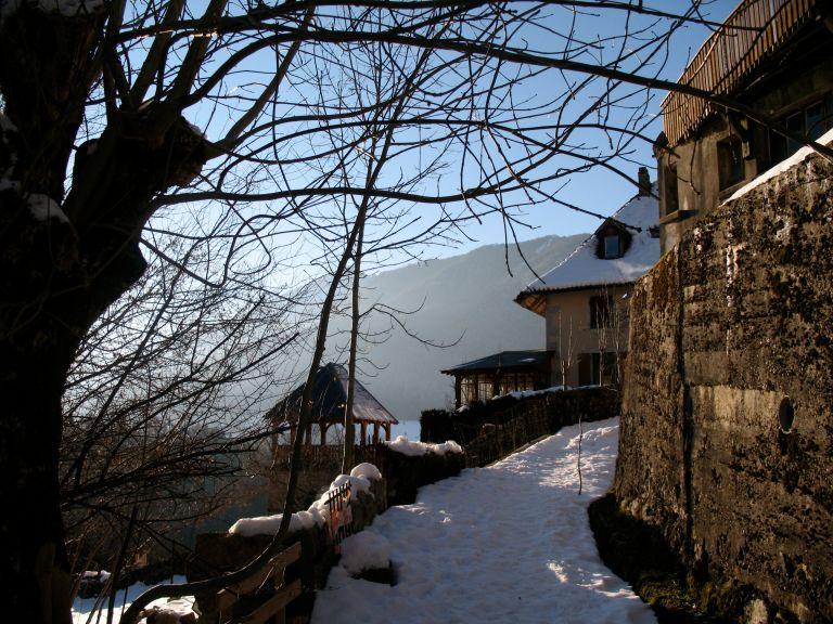 St Pierre de Chartreuse, Rhône Alps, France - Photo by Jane Riddell