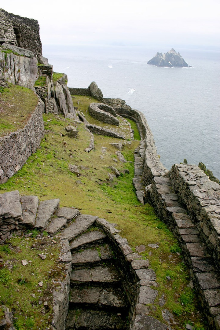 Monastic settlement, Skellig Michael, County Kerry, Ireland - Photo by Ian Kennelly