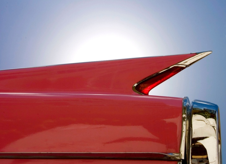Ass Of A Red Cadillac - Photo by David Levingstone