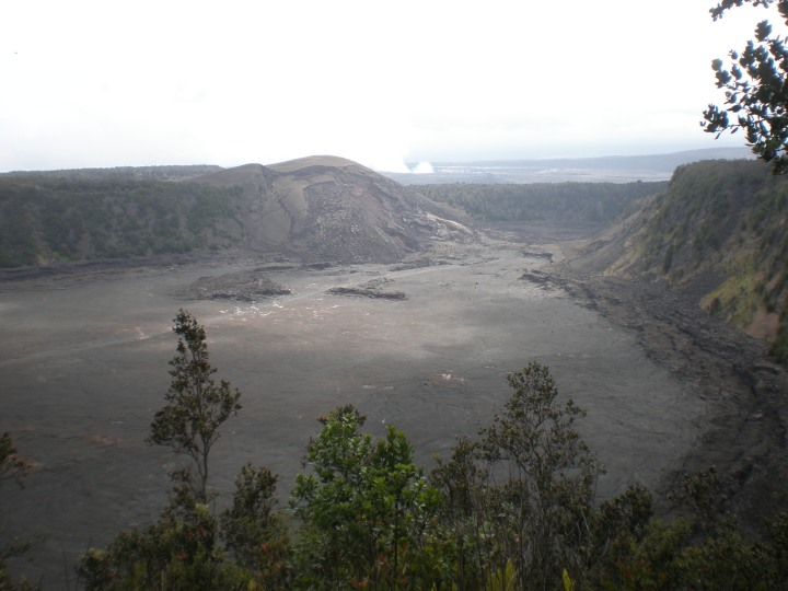 Collapsed Crater, Hawaii Volcanoes National Park - Photo by Ken Swearengen