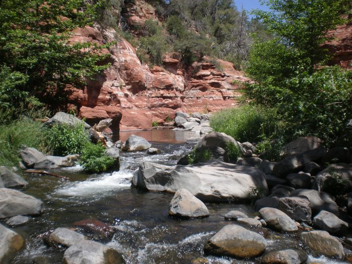 The World According to Oak Creek, Oak Creek Canyon, Arizona - Photo by Ken Swearengen