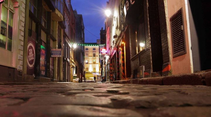 On the Cobble - Photo by David Levingstone