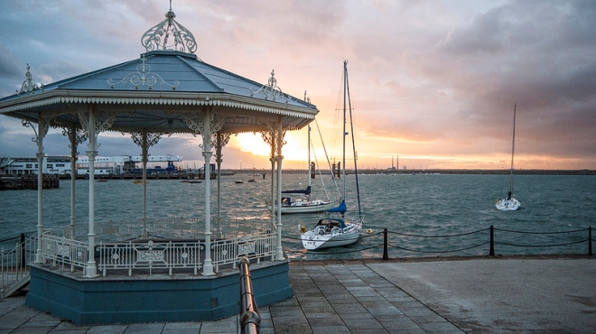 Dun Laoghaire Pier - Photo by David Levingstone