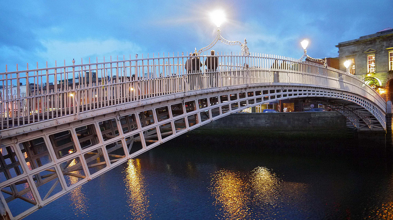Ha'penny Bridge - Photo By David Levingstone