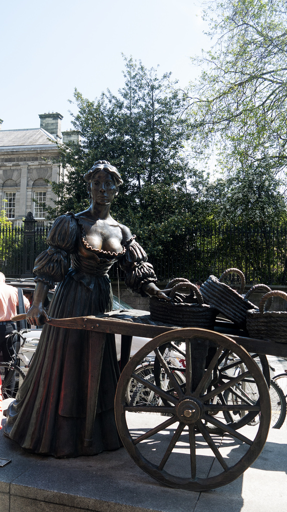 Molly Malone - Photo by David Levingstone