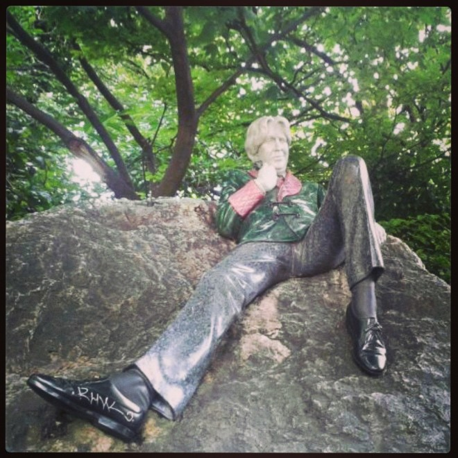 Oscar Wilde's Statue, Merrion Square - Photo by Alice Walsh