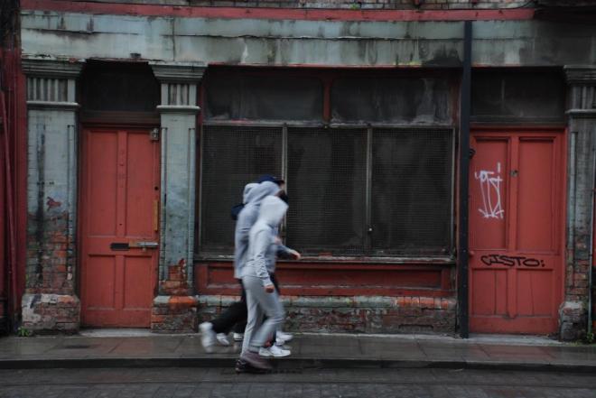 Hoodies in Dublin - Photo by Jenny Hauser