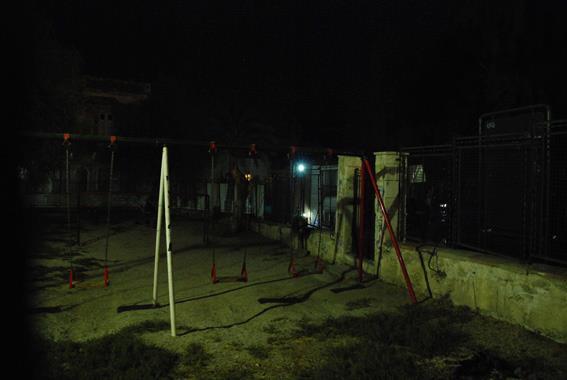 Playground, Syros, Grece - Photo by Jenny Hauser