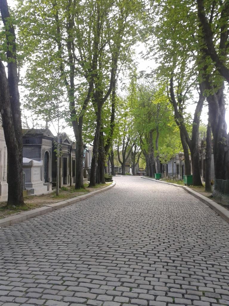 Pere La Chaise Avenue - Photo by Amelia Edwards