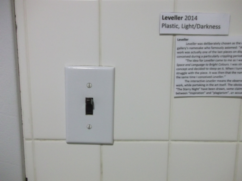 Leveller (information reproduced below, text missing)